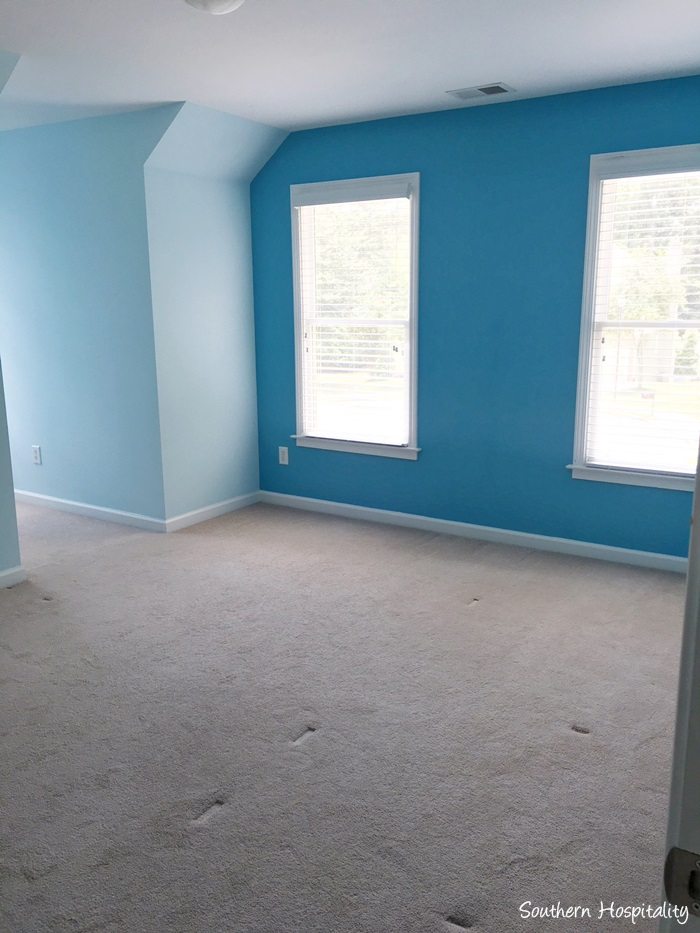 upgrading a builder's grade house