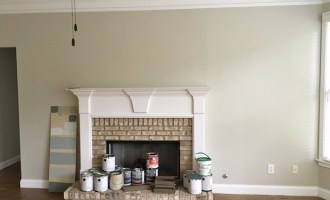 Our Main Paint Color:  Magnolia Home Gatherings