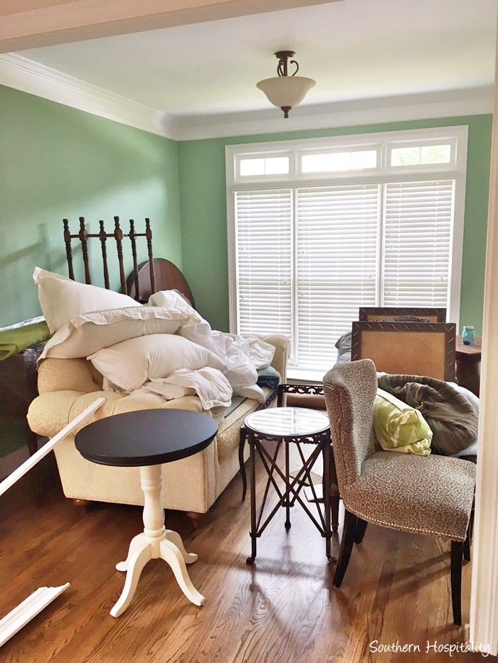 Living Room Board and Batten - Southern Hospitality