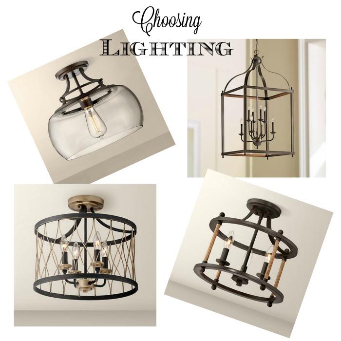 choosing lighting