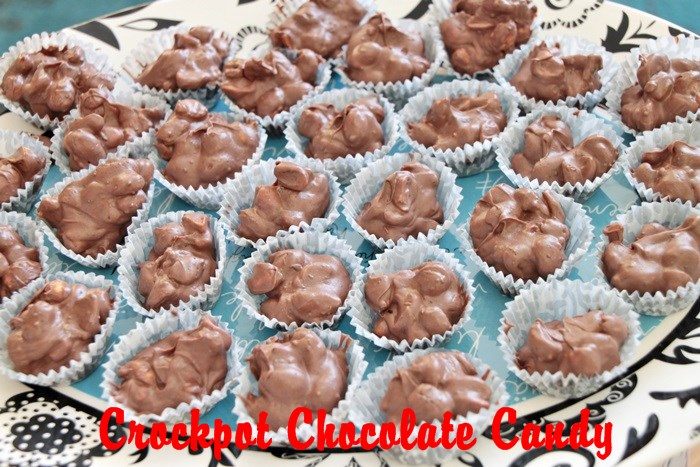 crockpot chocolate candy