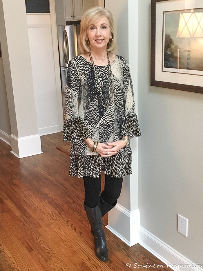 Fashion over 50: Dress and Boots