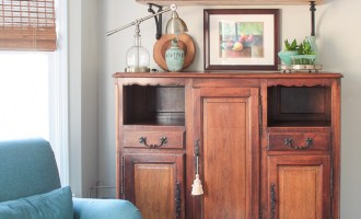 New Open Kitchen Shelves
