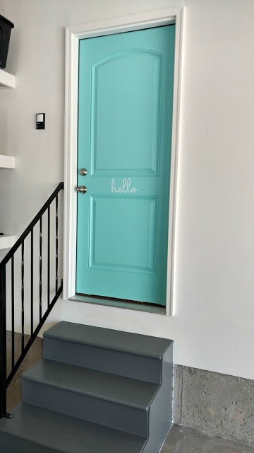 Painting Interior Doors with steps