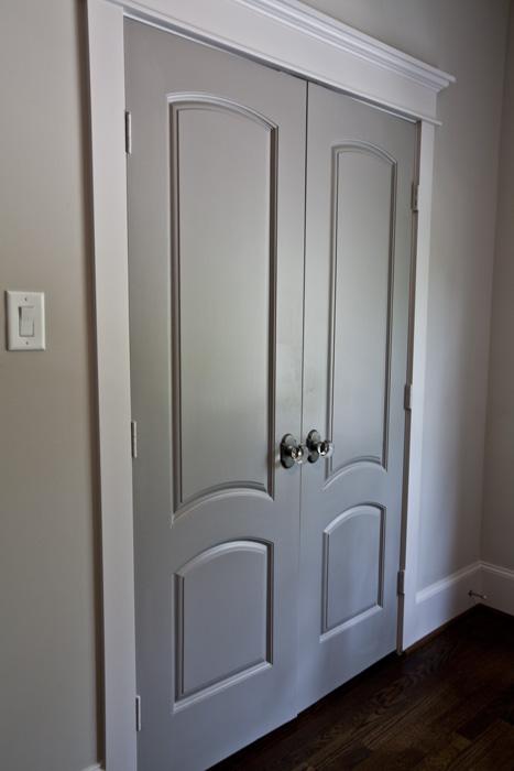 Painting Interior Doors bedroom
