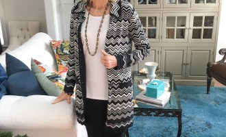 Fashion over 50:  Pencil Skirt & White Top