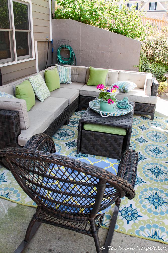 Spring Entertaining on the Patio