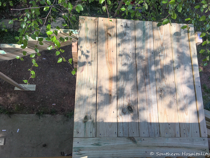 Adding Stairs to a Deck