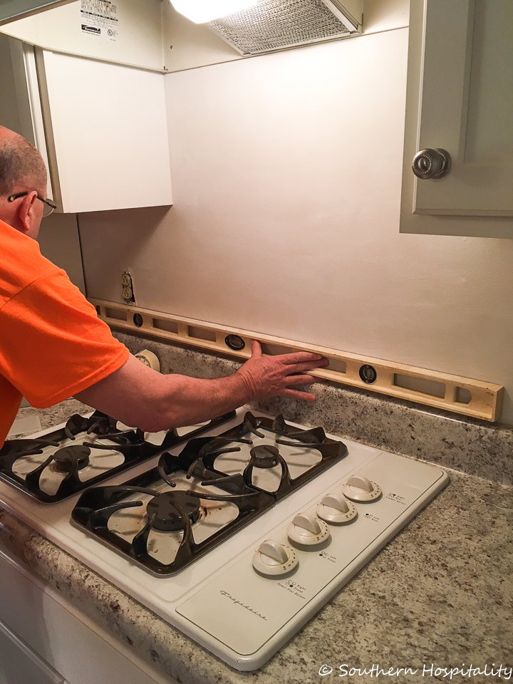 Peel and Stick Tile Installation