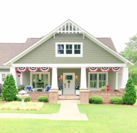 image1 - Characteristic Friday:  Our Craftsman Cottage