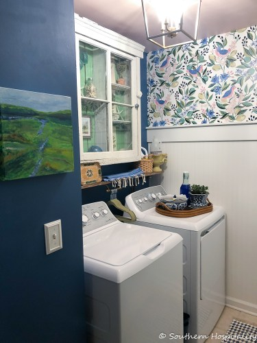 Laundry Room Design Small Hanging Clothes