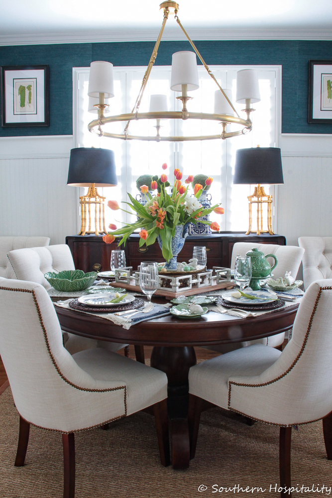 Our Spring Dining Room: Spring Decorating Ideas 2019