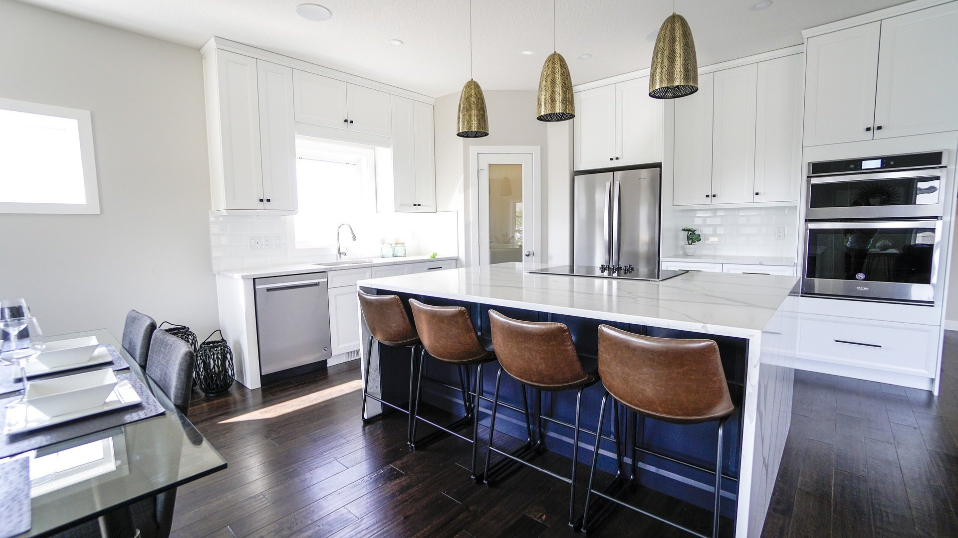 Kitchen in Zoned House