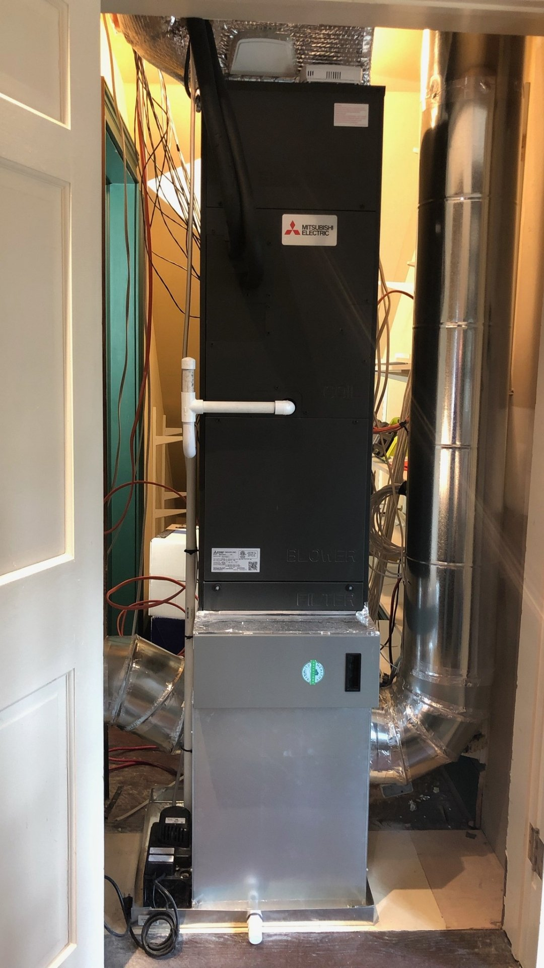 Air Handler Installed During Multi-project - Page Gallery