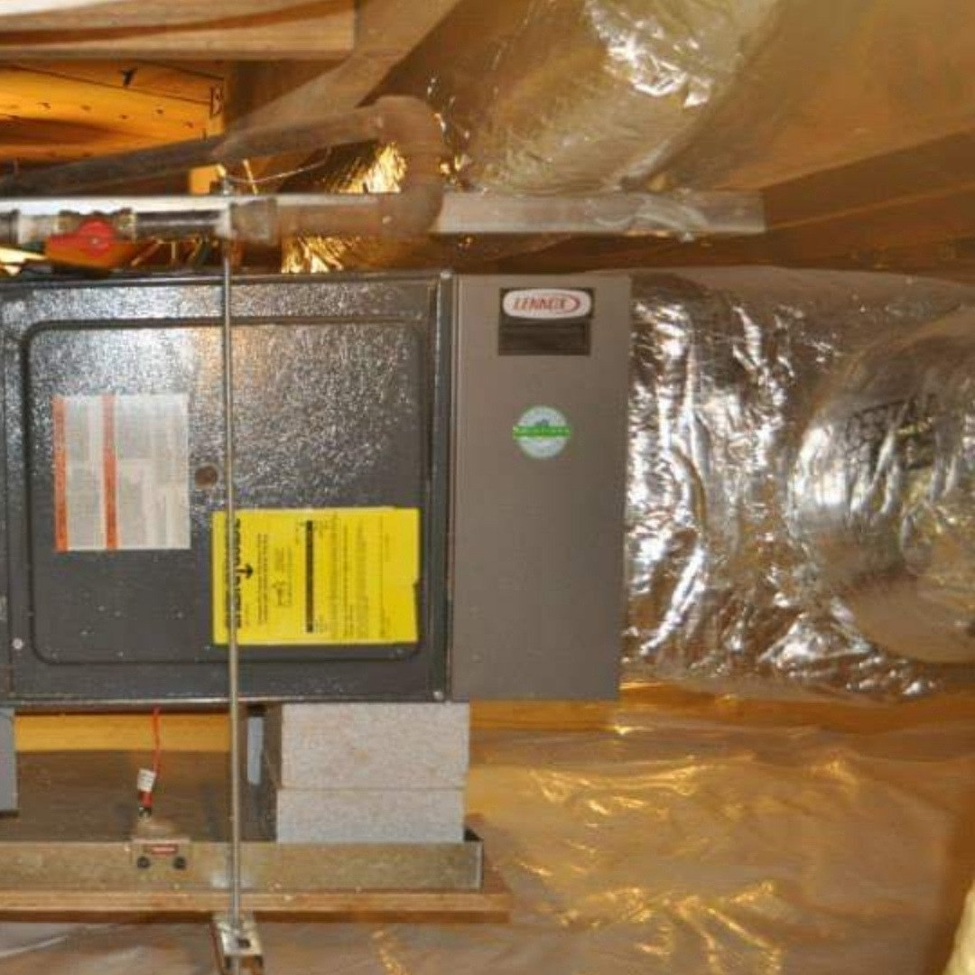 Air Purification System Inside a Crawlspace - Page Gallery