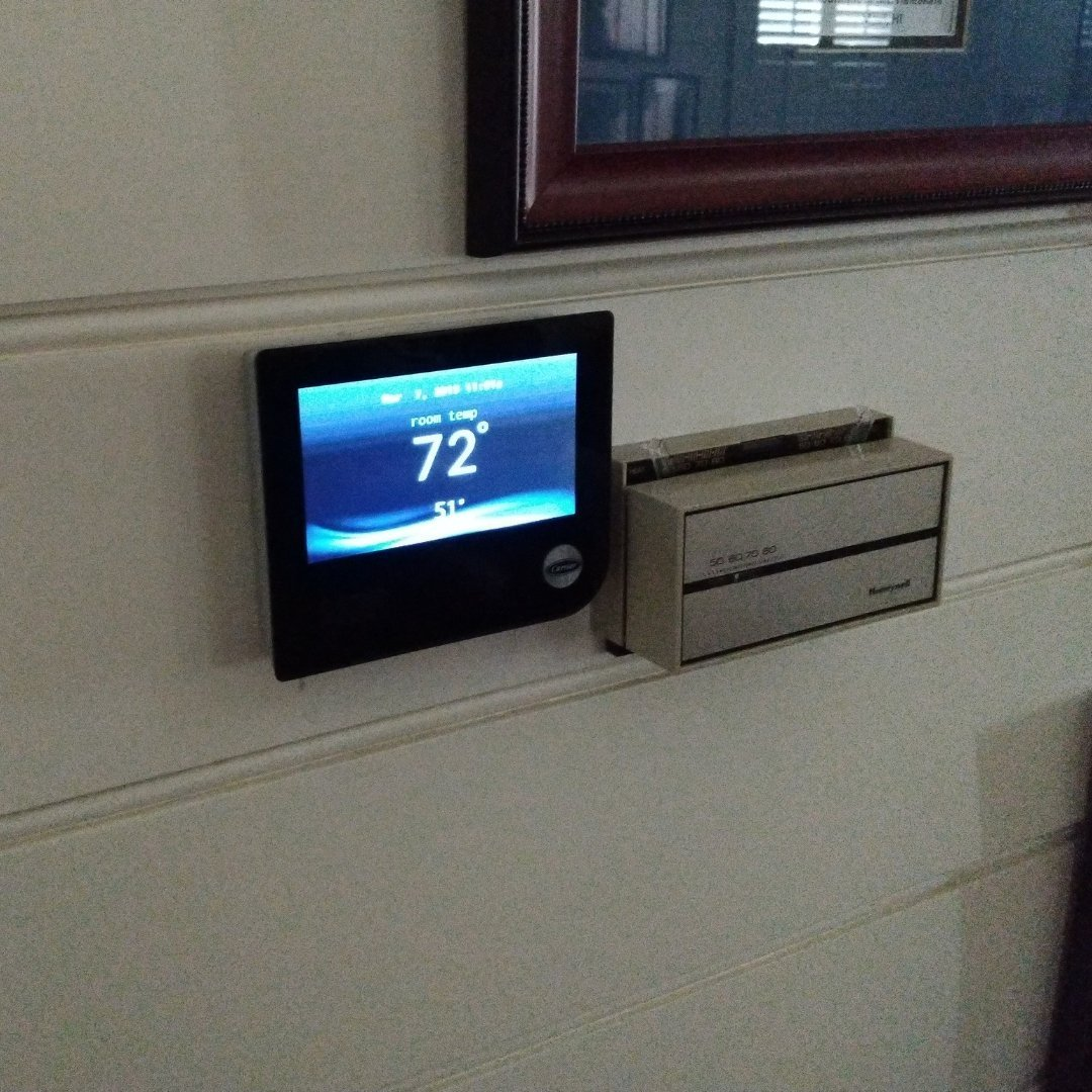 Smart Thermostat Installation - Thermostat Page Gallery