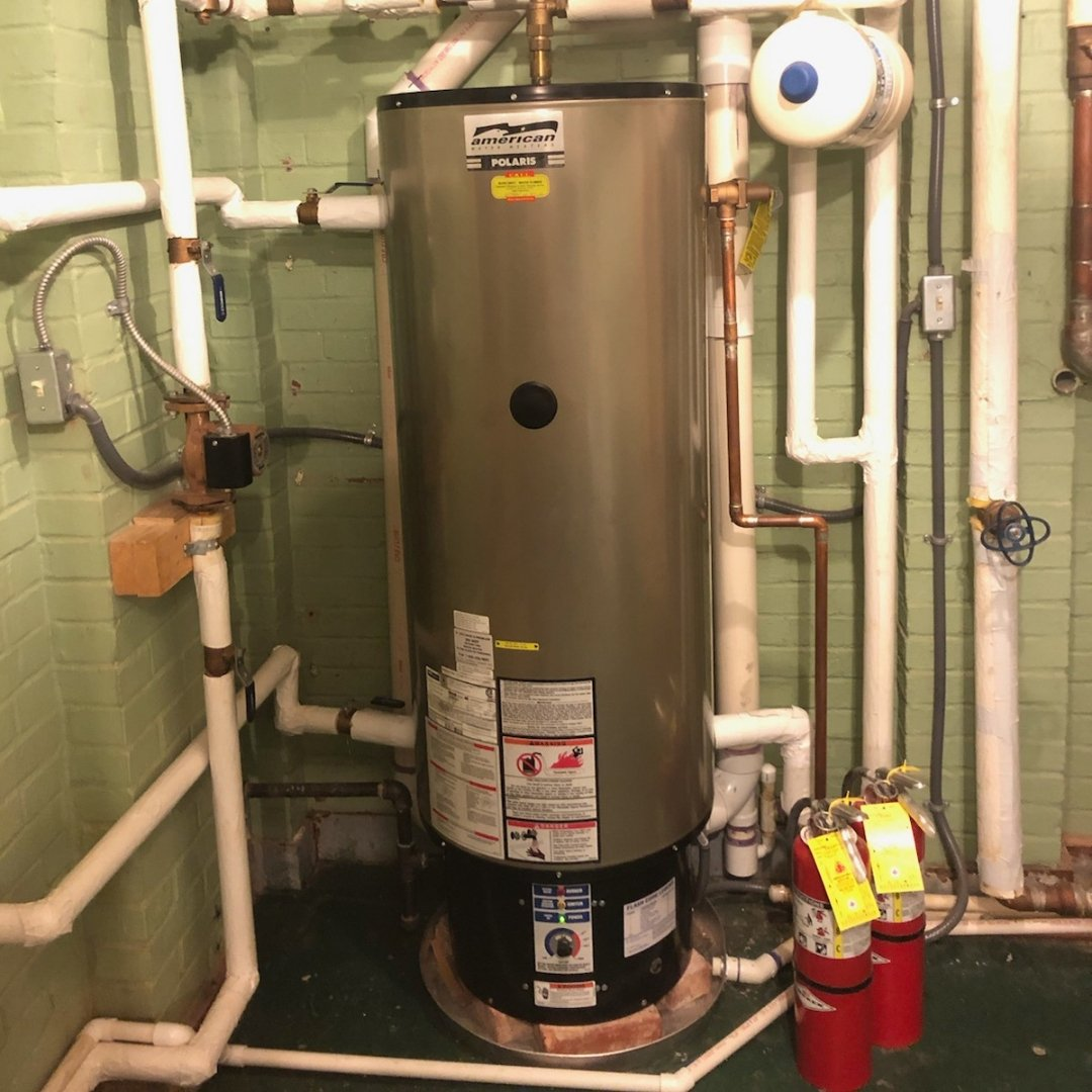 Silver Polaris Water Heater - Page Gallery