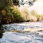 Rapids at Big Shoals State Park.