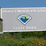 HoneymoonIslandStateParkSign