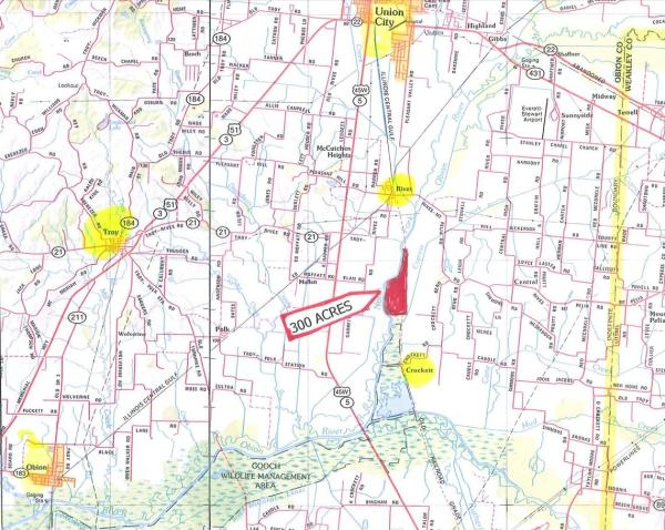 300 +/- Acres, Obion County, Tennessee - Southern Land Company