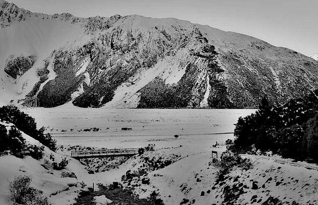 Aoraki Mt Cook village, Glencoe Stream