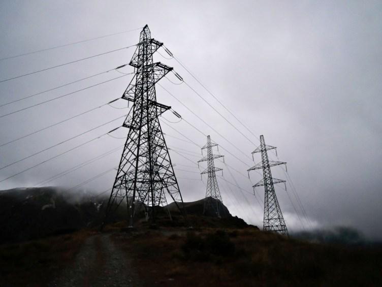 Borland Power Pylons