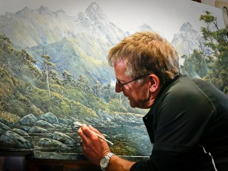 Artist Wayne Edgerton