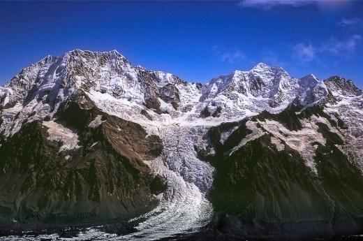 Mt Cook and Mt Tasman