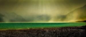 Lake Pukaki dust storm