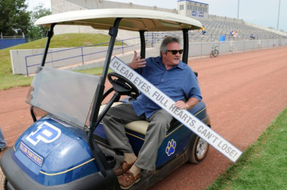"""FRIDAY NIGHT LIGHTS -- """"Always"""" Episode 513 -- Pictured: Brad Leland as Buddy Garrity -- Photo by: Bill Records/NBC"""
