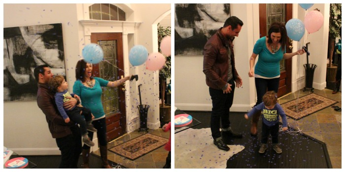Confetti Balloon Gender Reveal - Southern Made Blog