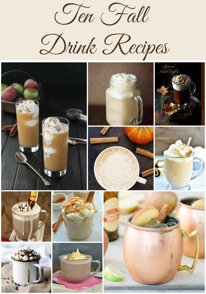 Southern Made Blog | Ten Fall Drink Recipes