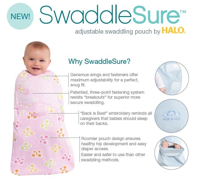 SwaddleSure by Halo