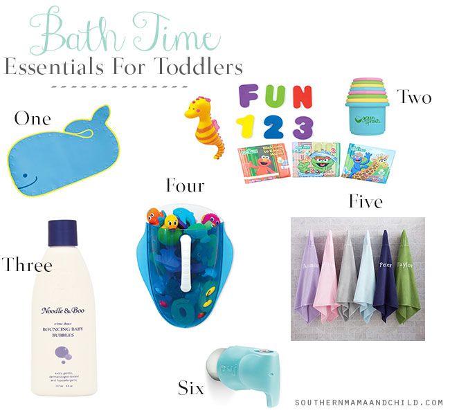 Toddler-Bath-Time-Essentials