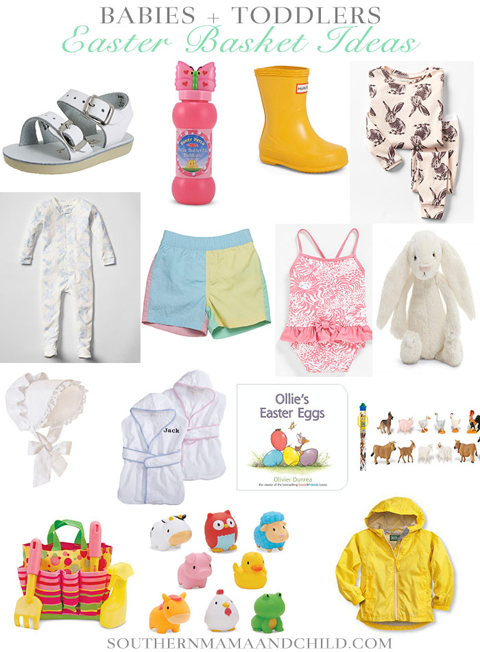 Easter Basket Ideas: Babies and Toddlers