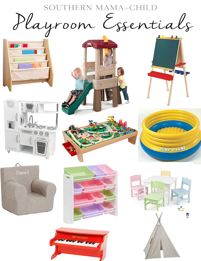 Playroom Essentials by Brittany at SouthernMamaGuide.com || Playroom Favorites || Playroom Toys || Playroom Organization || Playroom Necessities