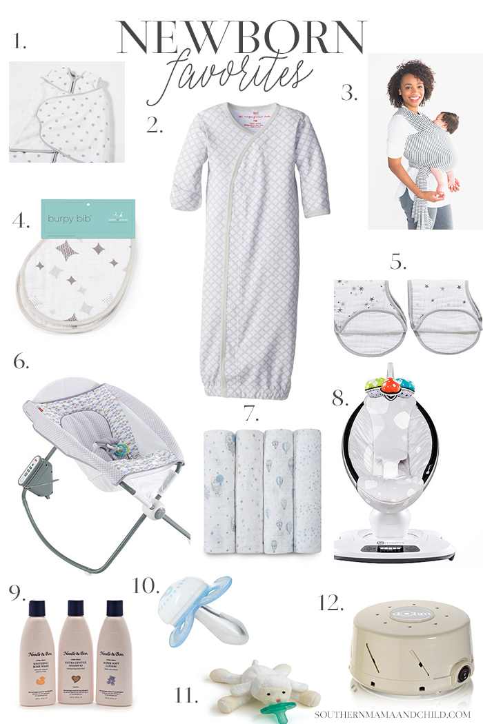 NEWBORN-FAVORITES-for-baby