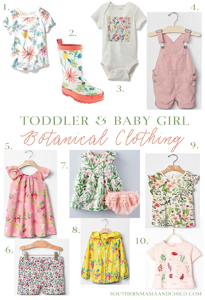 Botanical-Clothing-For-Toddler-and-Baby-Girls-