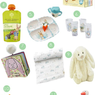 Easter Basket Ideas for Babies