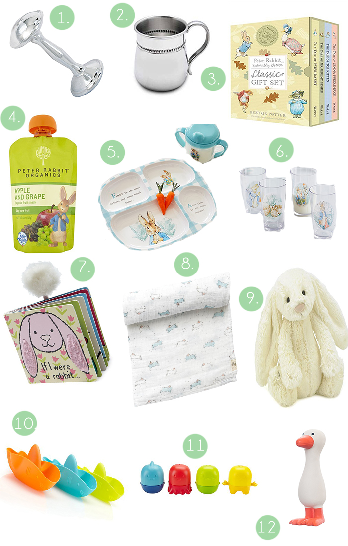 Easter Basket Ideas for Babies by Britt at SouthernMamaGuide.com || Easter || Easter basket || Easter basket ideas || Easter basket ideas for babies || Baby's first easter ||