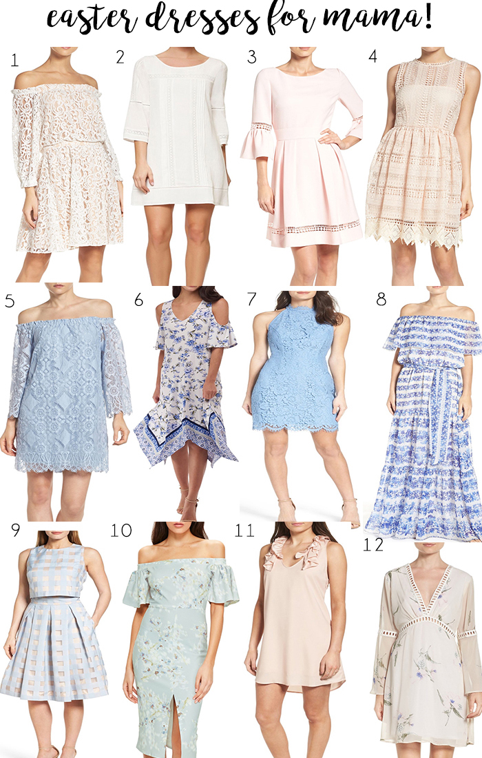 Easter Dresses for Mama by Britt at SouthernMamaGuide.com || Easter dresses || spring dresses || Sunday Dresses || Beautiful dresses || Dresses for moms || Mom Style