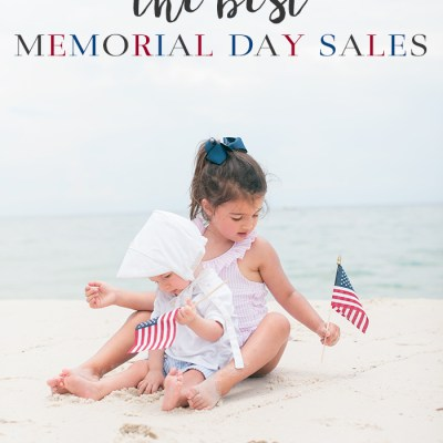 Friday Conversations // The BEST MEMORIAL DAY SALES Round Up