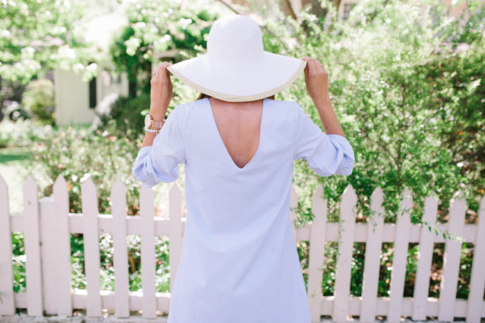French Blue Southern Flair Dress