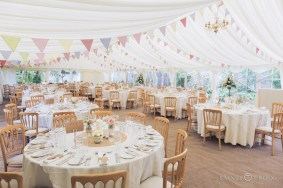 The prettiest wedding venue can be created in the neatest gardens with our new multispan marquees.