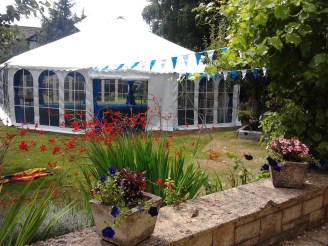 Why not host a charity party in your garden?