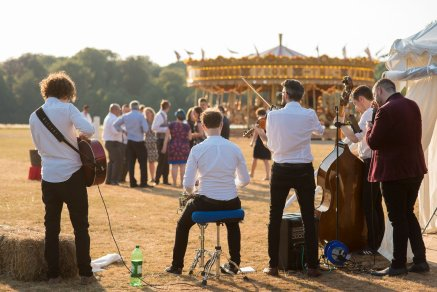 Take your musicians outside and make the most of the evening sun and the grounds of Stansted Park.