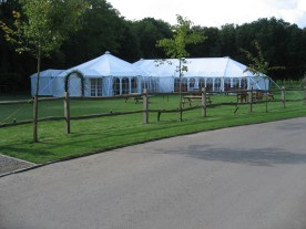Our marquees can be linked to provide bar areas, reception areas and to connect catering tents.
