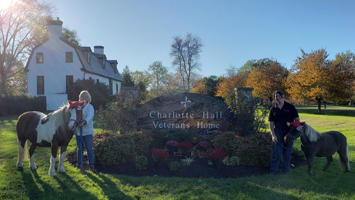 Greenwell Foundation Partners with Charlotte Hall Veterans Home for Special Visit During Pandemic