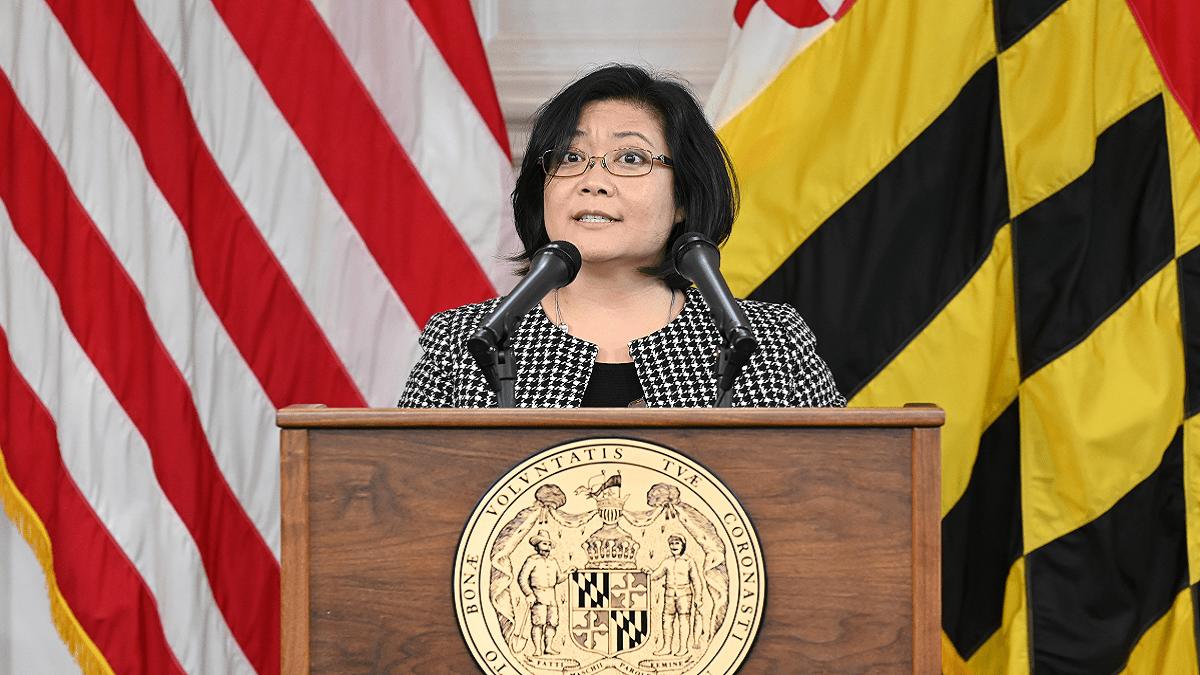 Deputy Health Secretary Dr. Jinlene Chan