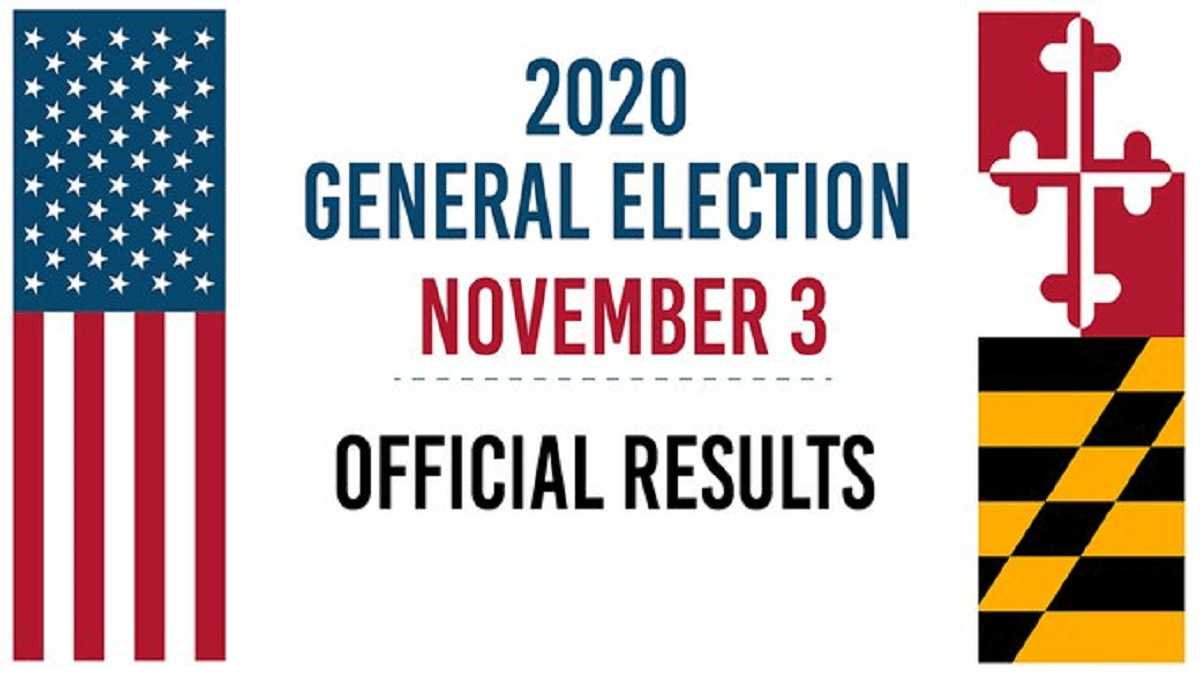 Maryland Board of State Canvassers Certifies Election Results